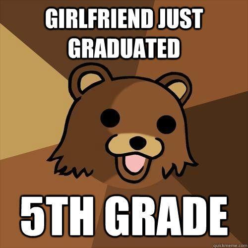 Girlfriend just graduated