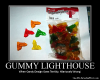 Gummy Lighthouse