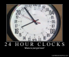 24 hour clocks