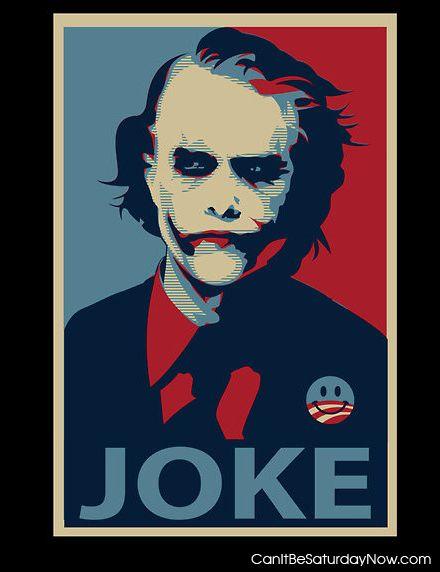 Joke poster