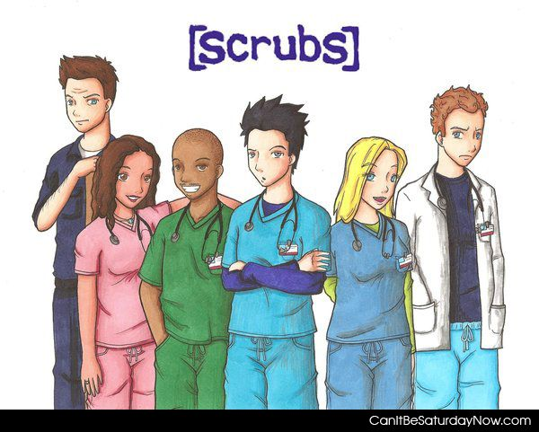 Scrubs fan art