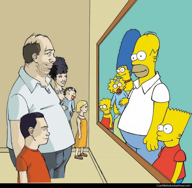 Simpsons real life