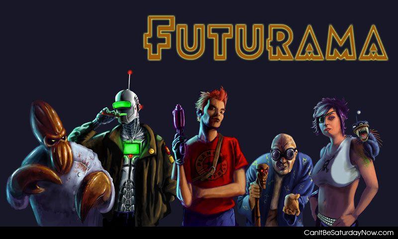 Futurama styled