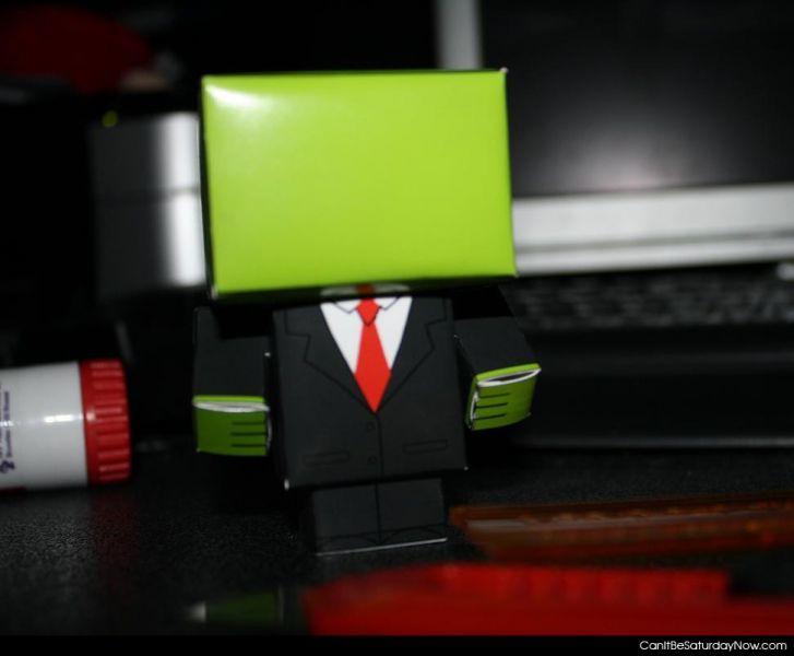 Green boxman