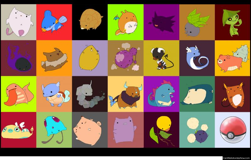 Pokemon redrawn