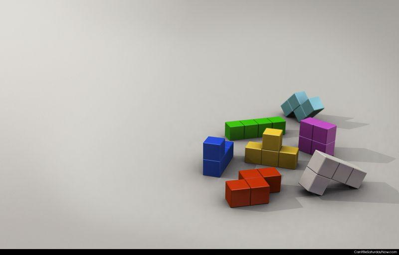 Tetris mess