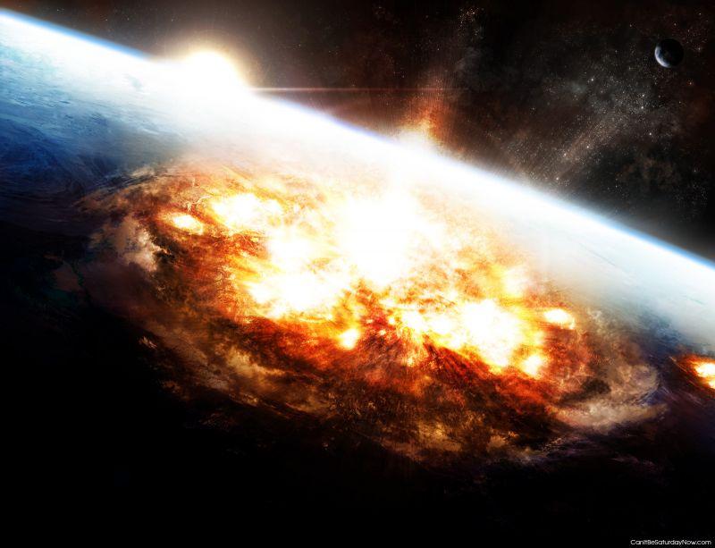 Boom earth