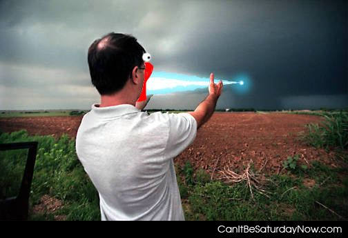 Laser shoot