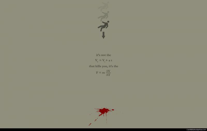 Fall kills you