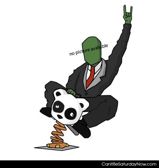 Anon panda rider