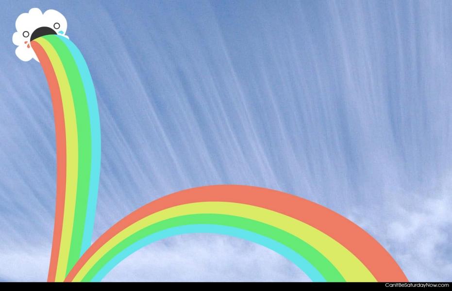 Puke a rainbow