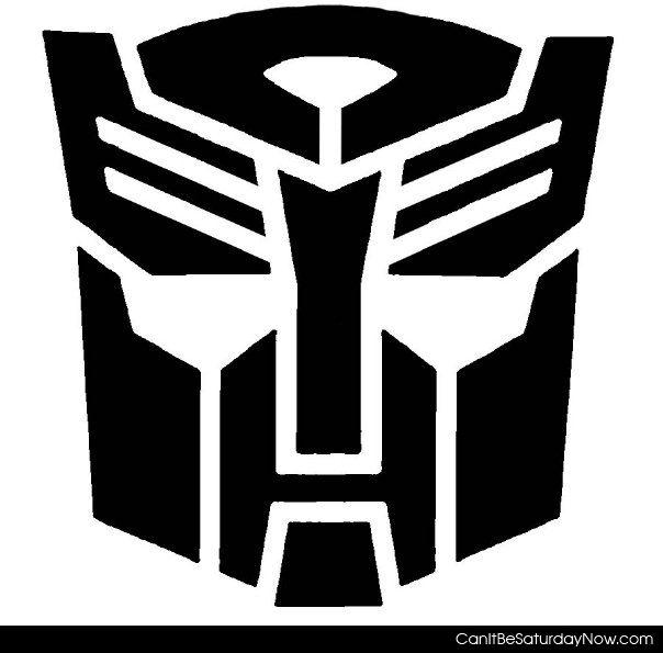 Transformers stencil
