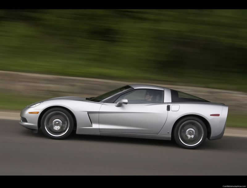 Corvette speed