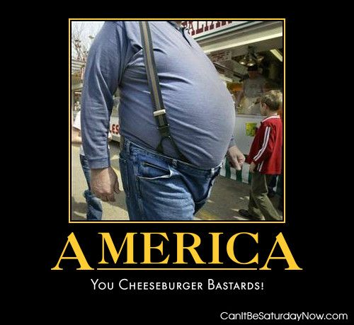 America is fat