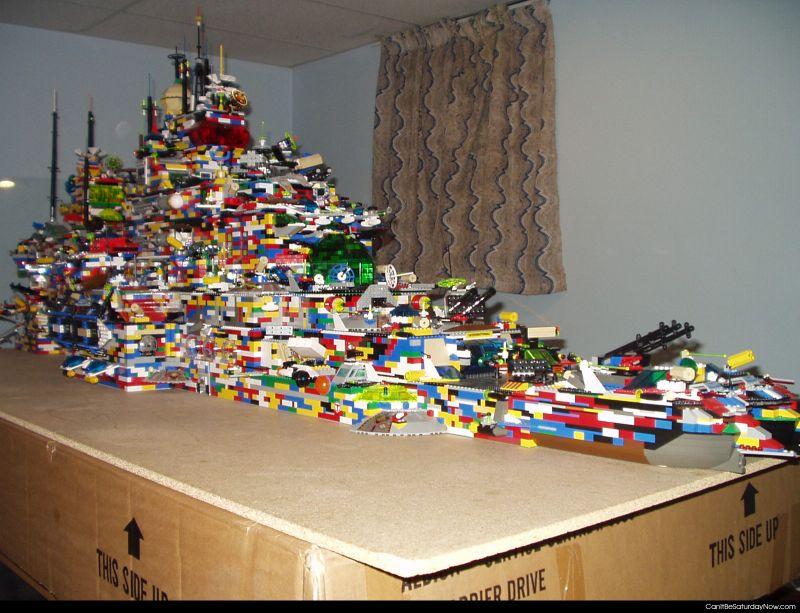 Lego mega ship