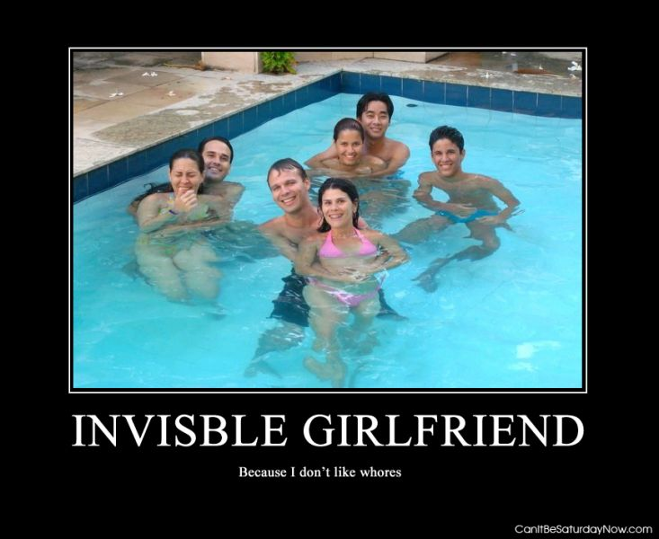 Invisble girlfriend