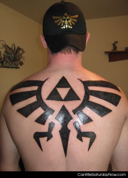 Triforce tat
