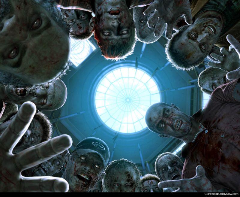 Zombie wake up